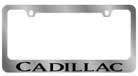 Cadillac License Plate Frame - 5204WO-BK