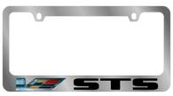 Cadillac STS V-Series License Plate Frame - 5212LWV-BK