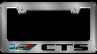 Cadillac CTS V-Series License Plate Frame - 5220LWV-BK