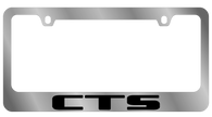 Cadillac CTS License Plate Frame -5220WO-BK