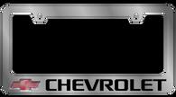 Chevrolet License Plate Frame - 5302LW-BK