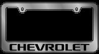 Chevrolet License Plate Frame - 5302WO-BK