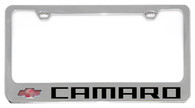 Cheverolet Camaro License Plate Frame - 5305N-LW-BK
