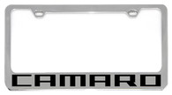 Cheverolet Camaro License Plate Frame - 5305N-WO-BK