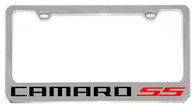 Cheverolet Camaro SS (Red) License Plate Frame - 5305WO-SSR-BK