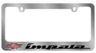 Cheverolet Impala License Plate Frame - 5312LW-BK