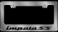 Cheverolet Impala SS License Plate Frame - 5314WO-BK