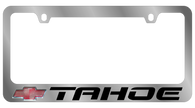 Cheverolet Tahoe License Plate Frame - 5321LW-BK
