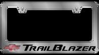 Cheverolet TrailBlazer License Plate Frame - 5322LW-BK