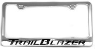 Cheverolet Trailblazer License Plate Frame - 5322WO-BK
