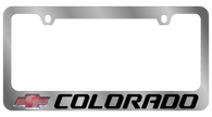 Cheverolet Colorado License Plate Frame - 5326LW-BK