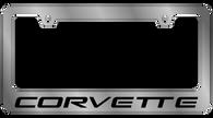 Corvette License Plate Frame - 5350WO-BK