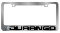 Dodge Durango License Plate Frame - 5406LW-BK