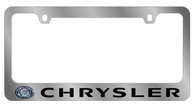 Chrysler License Plate Frame - 5415LW-BK