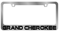 Jeep Grand Cherokee License Plate Frame - 5420WO-BK