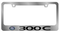 Chrysler 300C License Plate Frame - 5438LW-BK