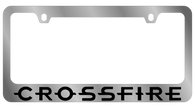 Chrysler Crossfire License Plate Frame  - 5450WO-BK