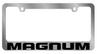 Dodge Magnum License Plate Frame - 5452WO-BK