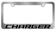 Dodge Charger License Plate Frame - 5473WO-BK