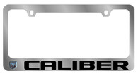 Dodge Caliber License Plate Frame - 5476LW-BK