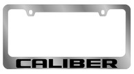 Dodge Caliber License Plate Frame - 5476WO-BK