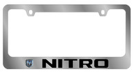 Dodge Nitro License Plate Frame - 5481LW-BK