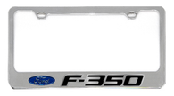 Ford F-350 License Plate Frame - 5507NLW