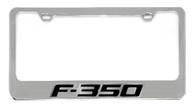 Ford F-350 License Plate Frame - 5507N-WO