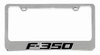 Ford F-350 License Plate Frame - 5507NWO