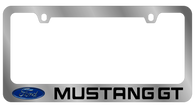 Ford Mustang GT License Plate Frame - 5522LW-BK