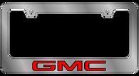 GMC License Plate Frame - 5601WO-BK