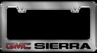 GMC Sierra License Plate Frame - 5604LW-BK