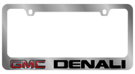 GMC Denali License Plate Frame - 5605LW-BK