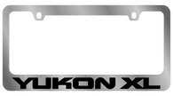 GMC Yukon XL License Plate Frame - 5607WO-BK