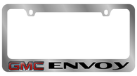 GMC Envoy License Plate Frame - 5609LW-BK