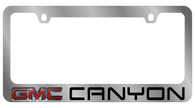 GMC Canyon License Plate Frame - 5613LW-BK