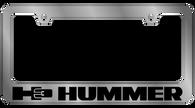 H3 Hummer License Plate Frame - 5626LW-BK