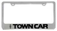 Lincoln Town Car License Plate Frame - 5706LW-BK