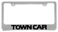 Lincoln Town Car License Plate Frame - 5706WO-BK