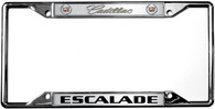 Cadillac Escalade License Plate Frame - 6205DL