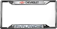 Chevrolet Avalanche License Plate Frame - 6303DL