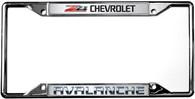 Chevrolet Z71 Avalanche License Plate Frame - 6303DL-Z71