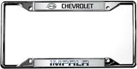 Chevrolet Impala License Plate Frame - 6312DL