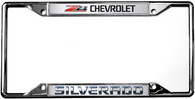 Chevrolet Z71 Silverado License Plate Frame - 6319DL-Z71