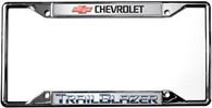 Chevrolet Trailblazer License Plate Frame - 6322DL