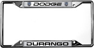 Dodge Durango License Plate Frame - 6406DL