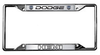 Dodge HEMI License Plate Frame - 6407DL