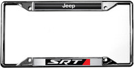 Jeep SRT License Plate Frame - 6418DL-SRT
