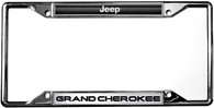 Jeep Grand Cherokee License Plate Frame - 6420DL