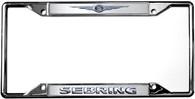 Chrysler Logo Sebring License Plate Frame - 6426DL